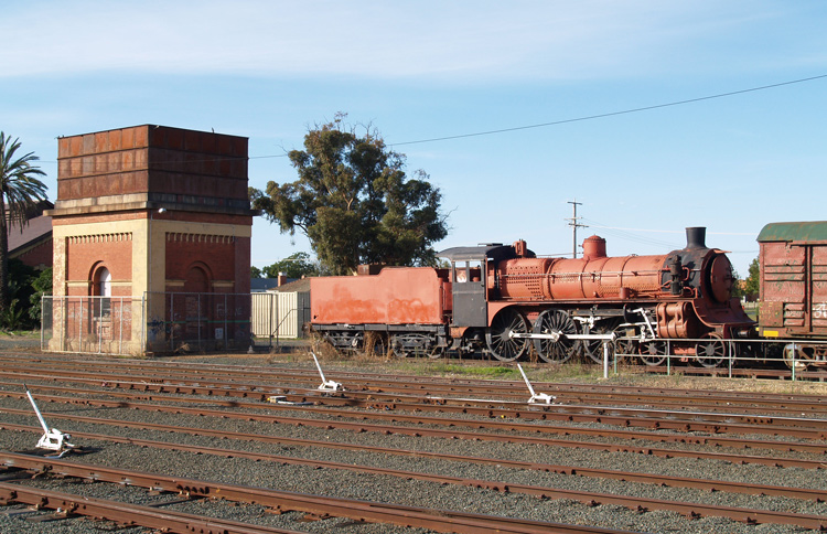 Preserved Steam Locomotives Down Under